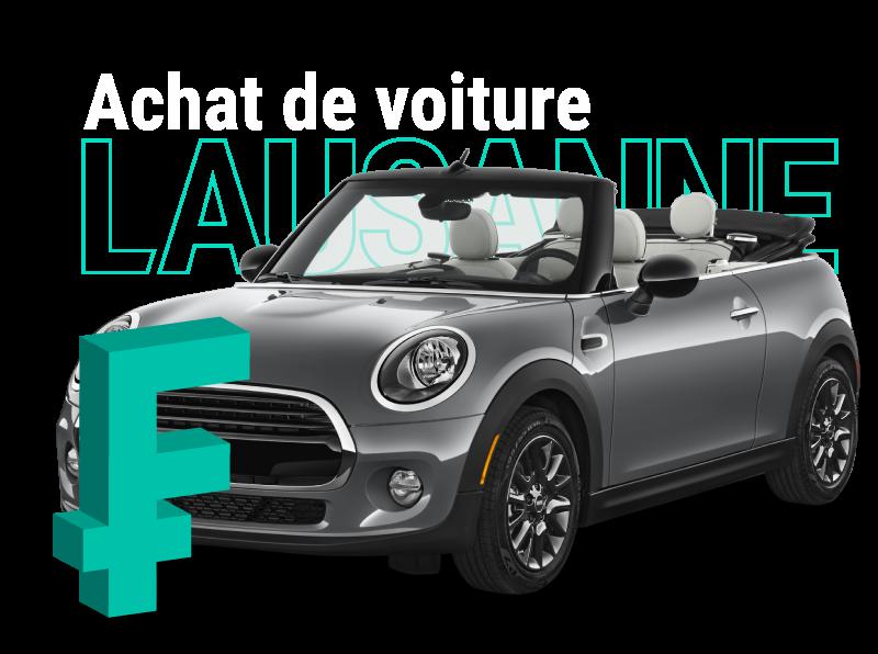 Achat de voitures d'occasion à Lausanne